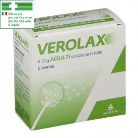 VEROLAX ADULTI SOLUZIONE RETTALE 6 CLISMI 6,75g