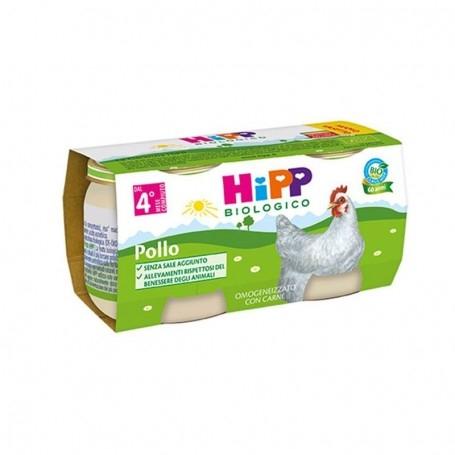HIPP BIO OMOGENEIZZATO POLLO 2x80g