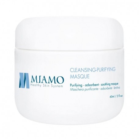 MIAMO ACNEVER CLEANSING PURIFYING MASCHERA PURIFICANTE ADSORBENTE LENITIVA 60ml