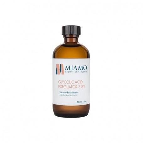 MIAMO TOTAL CARE GLYCOLIC ACID EXFOLIATOR 3.8% ESFOLIANTE VISO E CORPO 120ml