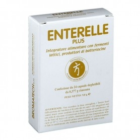 ENTERELLE PLUS INTEGRATORE FERMENTI LATTICI 24 CAPSULE