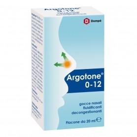 ARGOTONE 0-12 SOLUZIONE NASALE FLUIDIFICANTE GOCCE 20ml