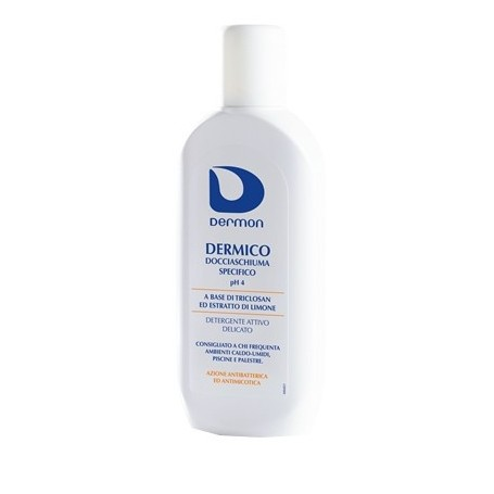 DERMON DERMICO DOCCIASCHIUMA SPECIFICO PH 4 DETERGENTE ANTIBATTERICO 250ml